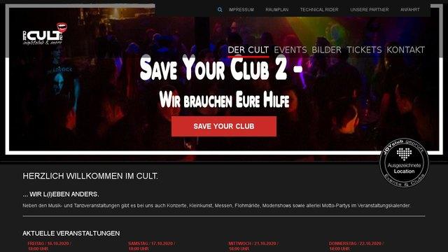 CULT: Nachtclub in Nürnberg